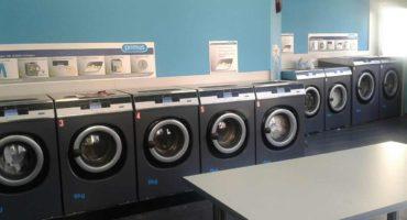 Samoobslužná prádelna v bytovém domě