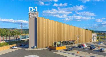 D1 Truck park nabízí kamioňákům i samoobslužné praní