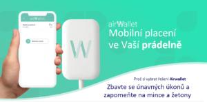 Platební aplikace Airwallet